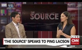 Interview on 'The Source,' CNN Philippines | April 3, 2019