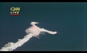 1986: CNN's coverage of the Challenger explosion