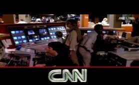CNN's first broadcast: June 1, 1980