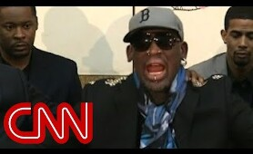 Dennis Rodman lashes out at CNN's Chris Cuomo on Kenneth Bae question