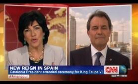 La CNN tumba el sueño separatista de Artur Mas con sólo 1 pregunta.