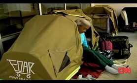 CNN - Tents on wheels give homeless people roof and pride