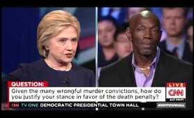 Hillary Clinton On The Death Penalty At The CNN Town Hall