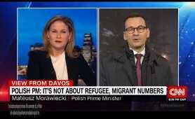 Wywiad premiera Morawieckiego dla CNN.