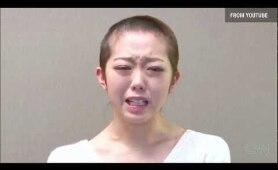 峯岸みなみ 丸刈り謝罪 [CNN] AKB48 Shaves Head Apology Minegishi Minami