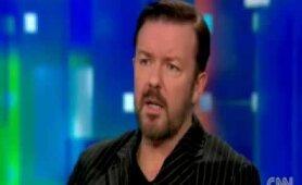 Ricky Gervais on CNN: