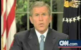 CNN ex president george w busch