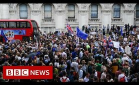 Parliament suspension: Protests in UK cities - BBC News