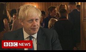 Boris Johnson: 'We want to do a deal' - BBC News