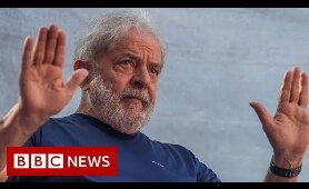 Former Brazilian president speaks to the BBC from prison - BBC News