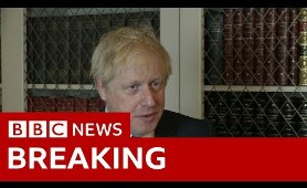 Boris Johnson defends prorogation decision - BBC News