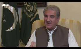 Pakistani foreign minister Shah Mehmood Qureshi's conditional offer to India