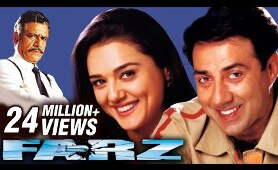 Farz Full Movie | Hindi Full Movie | Sunny Deol Movies |  Action Movie | Preity Zinta