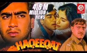 Haqeeqat - Bollywood Action Movies | Ajay Devgan, Tabu, Johnny Lever, Amrish Puri | Superhit Movies