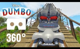 [360 video] Disney Dumbo Rollercoaster POV Ride VR Box