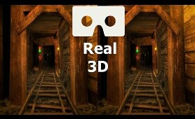 RollerCoaster Legends 3D VR video 3D SBS VR box google cardboard