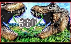 Jurassic Park 360 VR Dinosaurs 4K