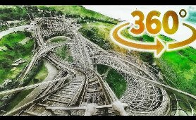 360 Roller Coaster Rides 4K - Germany Amusement Park Videos 360°