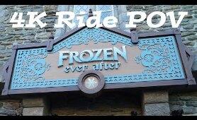FROZEN Ride   Frozen Ever After Full ride through 4K   Walt Disney World Epcot   FL Attractions 360