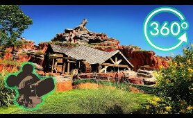 360º Ride on Splash Mountain at Magic Kingdom