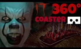 IT Chapter 2 360° VR Rollercoaster Movie themed VR POV Ride 360 도 롤러코스터 탐험 ジェットコースター