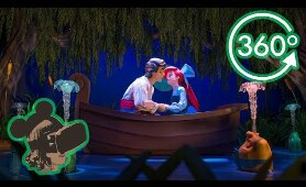 360º Ride on Under The Sea Journey of the Little Mermaid