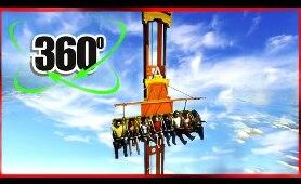 Roller Coaster 360 VR Theme Park 4K