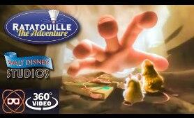[5K 360] Ratatouille Movie Ride - Walt Disney Studios - Coming Soon to Epcot
