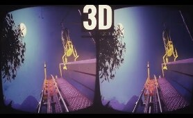 Planet Coaster Ride in 3D SBS for VR Box