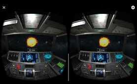 Solar Space Exploration VR Virtual Reality