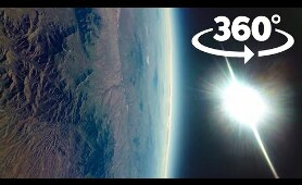 VR 360 Space Flight | Arizona from space