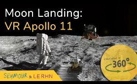 Moon Landing VR Experience! Join the Apollo 11 mission to the Moon With Education in 360!