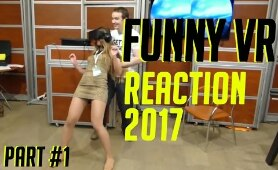 FUNNY VIRTUAL REALITY REACTION COMPILATIONS PSVR FUNNY VR REACTIONS