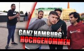 (Nicht) Ganz HAMBURG wird HOCHGENOMMEN !.. | STREET COMEDY | Denizon