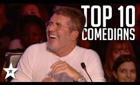 TOP 10 Funniest Comedians That Made SIMON COWELL Laugh on AGT & BGT | Got Talent Global