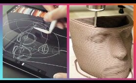 Creative Ideas Using New Technology | Futuristic Art Creations