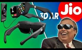 Jio Futuristic 3D AR Glasses, 5G Technology in India 2020