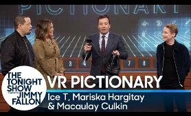 Virtual Reality Pictionary with Ice T, Mariska Hargitay and Macaulay Culkin