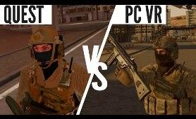 Onward Quest vs PC VR Graphics Comparison [PRE 1.8 UPDATE]