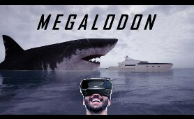 VR VIDEOS 3D - MEGALODON - for VR BOX 3D not 360 VR