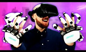 I Feel The Future Of VR With Dexmo Haptic Gloves