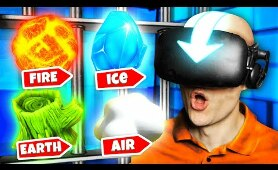 Mastering ALL THE ELEMENTS To ESCAPE VR PRISON (Funny Prison Boss Virtual Reality Gameplay)