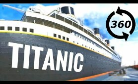 ⚓360 VR Experience Inside TITANIC Virtual Reality Tour Tour Honor & Glory #360video