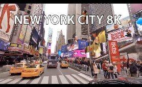 New York City 8K - VR 360 Drive