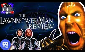 The Lawnmower Man Review - VR in the 90's was NUTS!!! VR180 3D