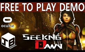 SEEKING DAWN - Free Edition Playthrough ( Sci-Fi VR Survival Adventure )
