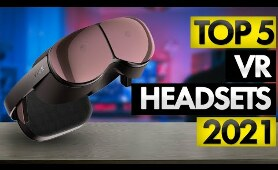 Top 5 BEST VR Headsets of [2021]