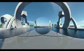 Kijk rond op stuwcomplex Amerongen in VR | 360° Virtual Reality