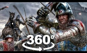 360 VR Video | Virtual Reality Experience of Chivalry 2 Medevial Warfare