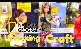 Unbox Daily: ALL NEW National Geographic Barbies PLUS DIY Mini Museum